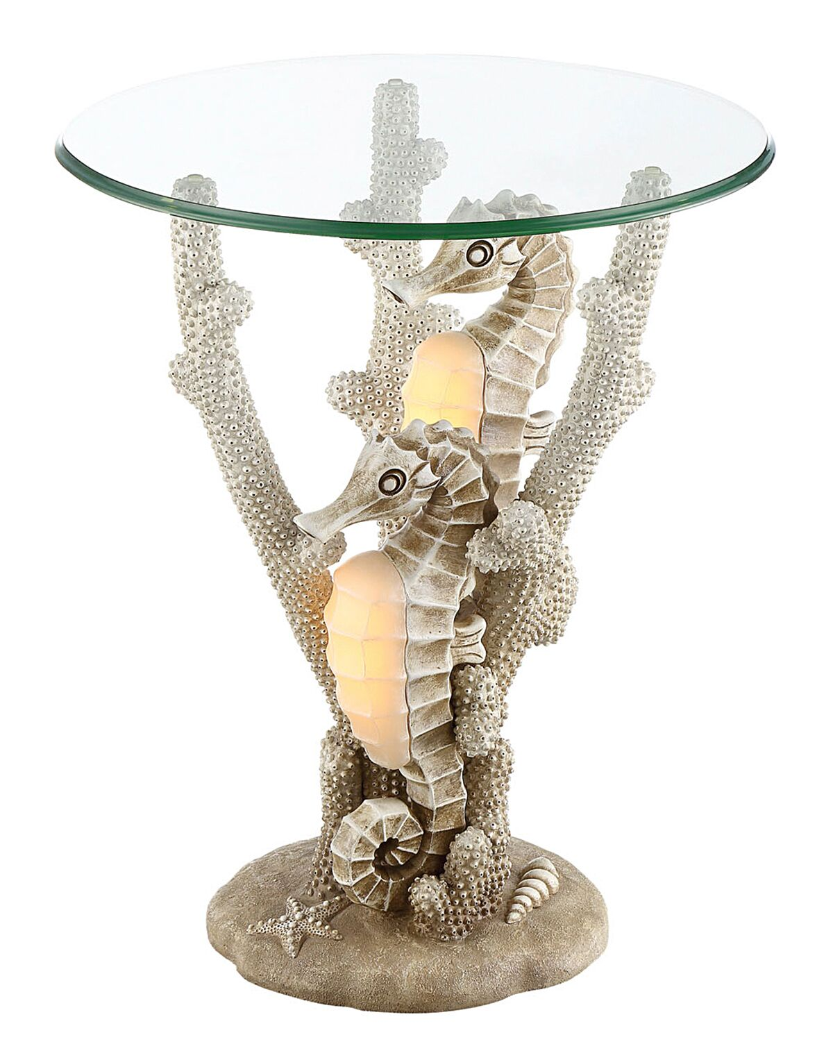 Remy Seahorse End Table