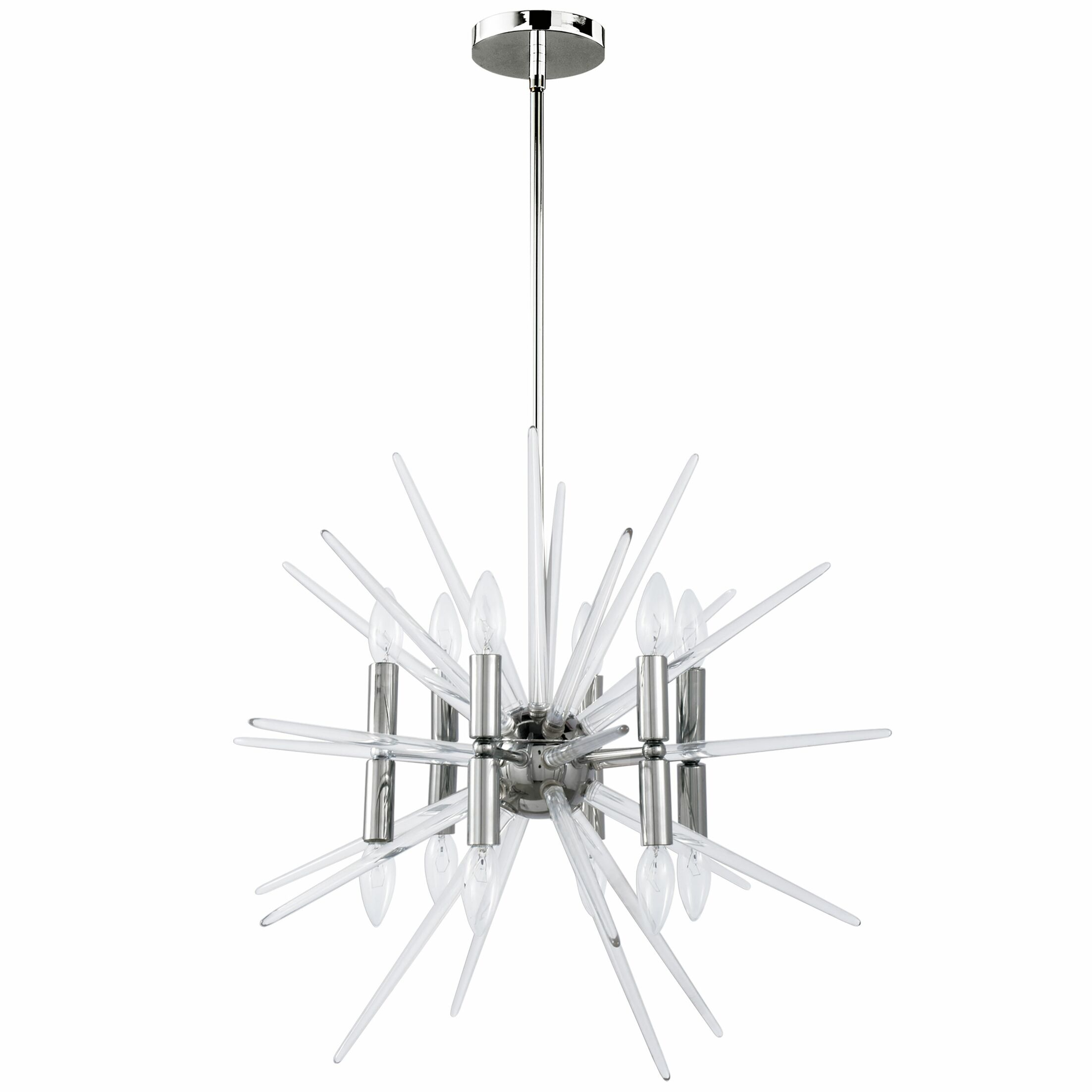 Aleah 12-Light Sputnik Chandelier