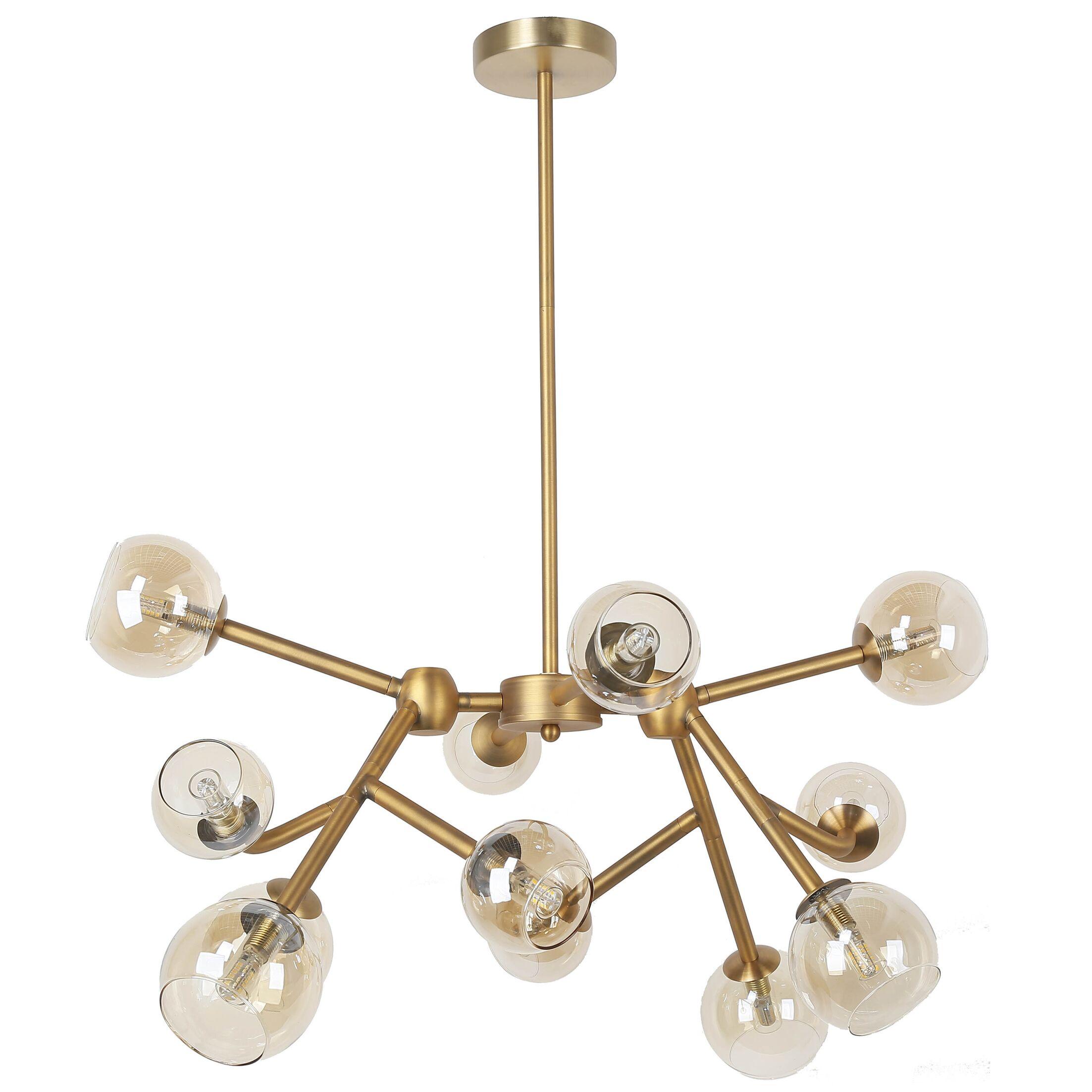 Kody 12-Light Sputnik Chandelier Finish: Gold