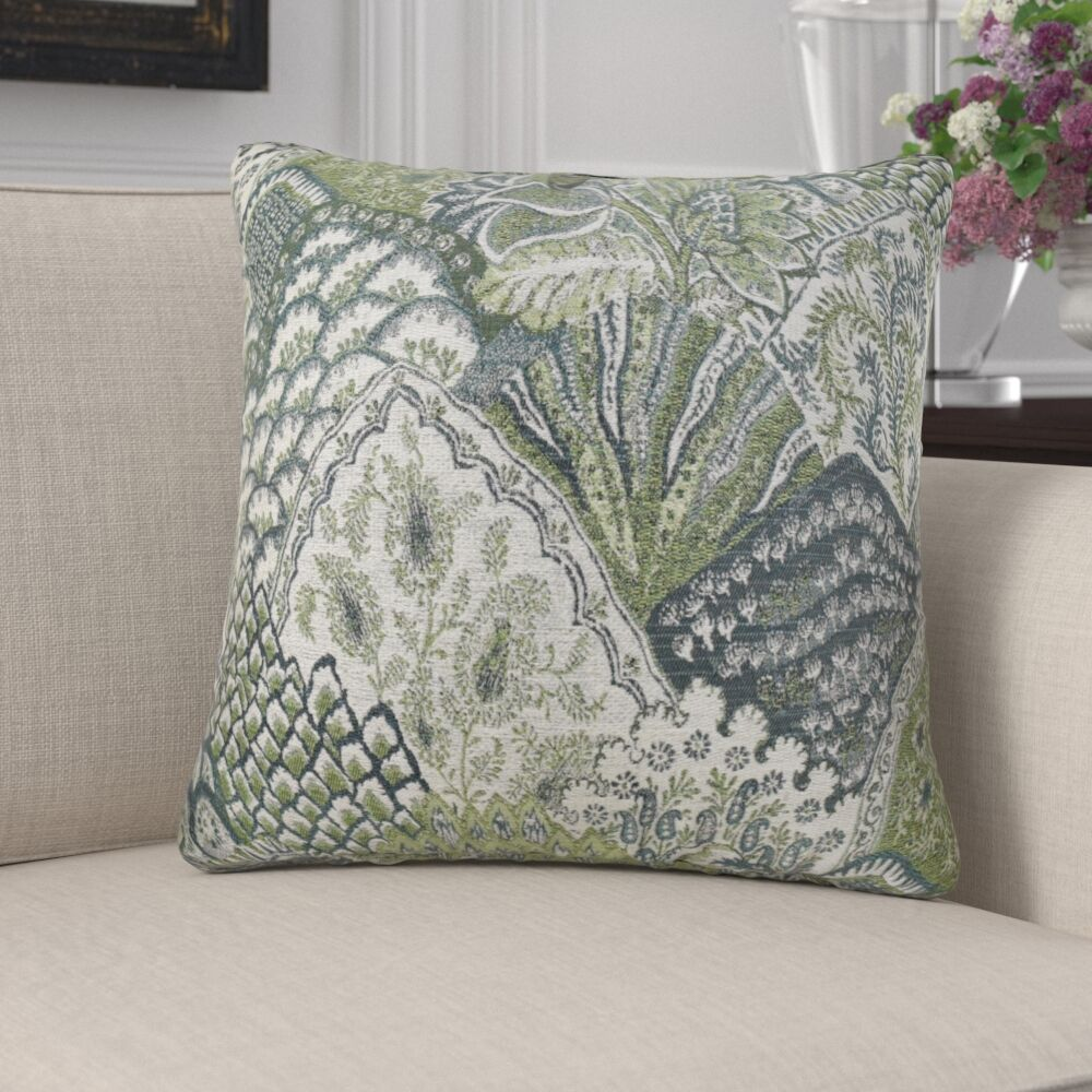 Eells Spring Nature Pillow Fill Material: 95/5 Feather/Down, Size: 16