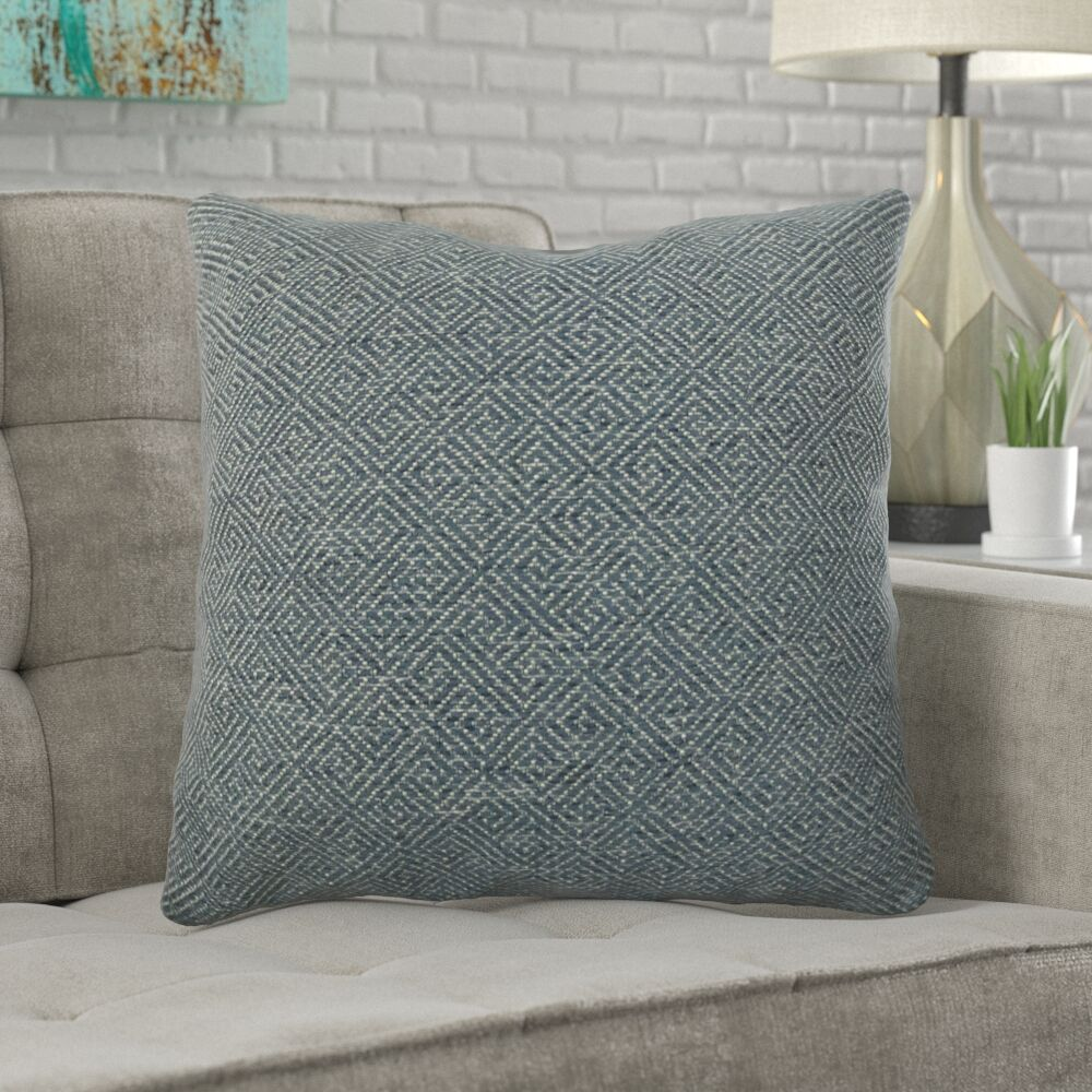 Mcmann Drenched Over Pillow Fill Material: Cover Only - No Insert, Size: 18