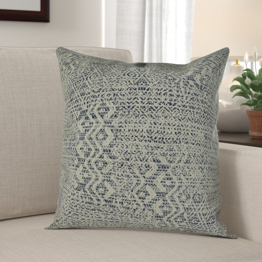 Bettsville Zig Zag Pillow Fill Material: Cover Only - No Insert, Size: 20