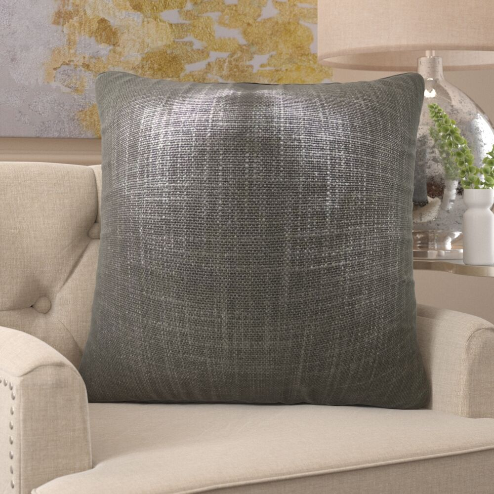 Franz Metallic Luxury Pillow Size: 20