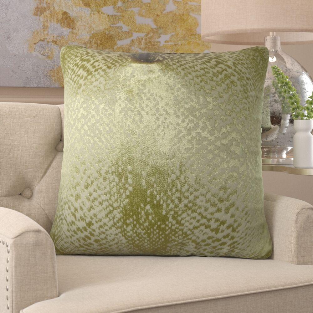 Franks Metallic Luxury Pillow Size: 26