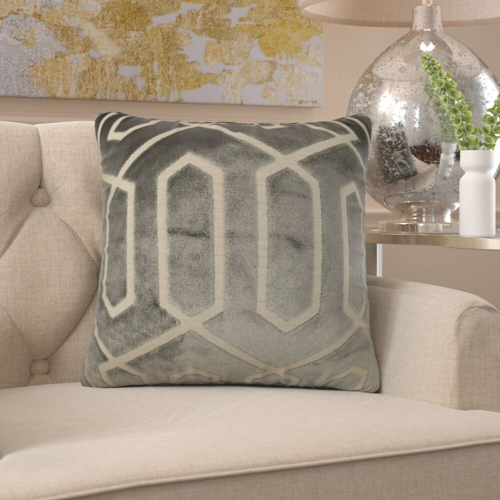 Friar High End Luxury Pillow Fill Material: H-allrgnc Polyfill, Size: 16
