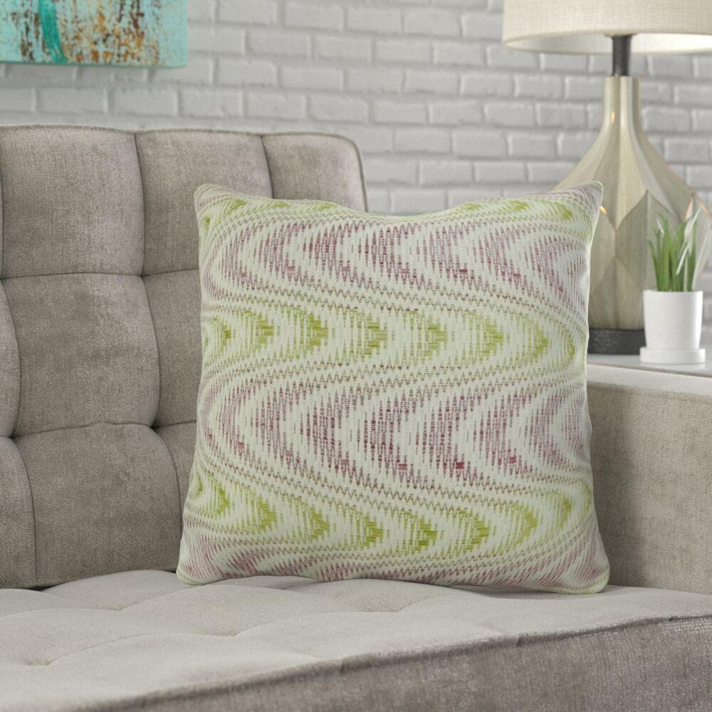 Mcmartin Wavy Swirl Pillow Size: 20