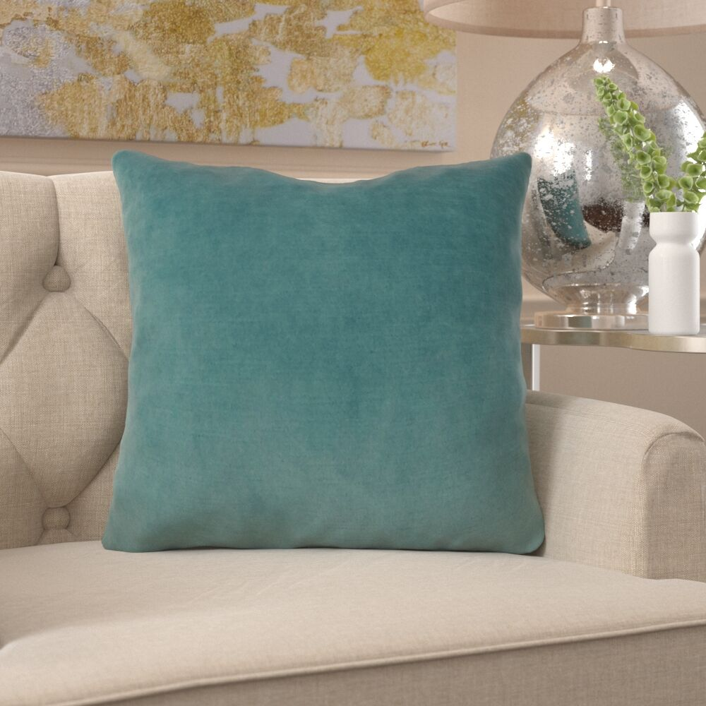 Frasher Luxury Designer Pillow Size: 18