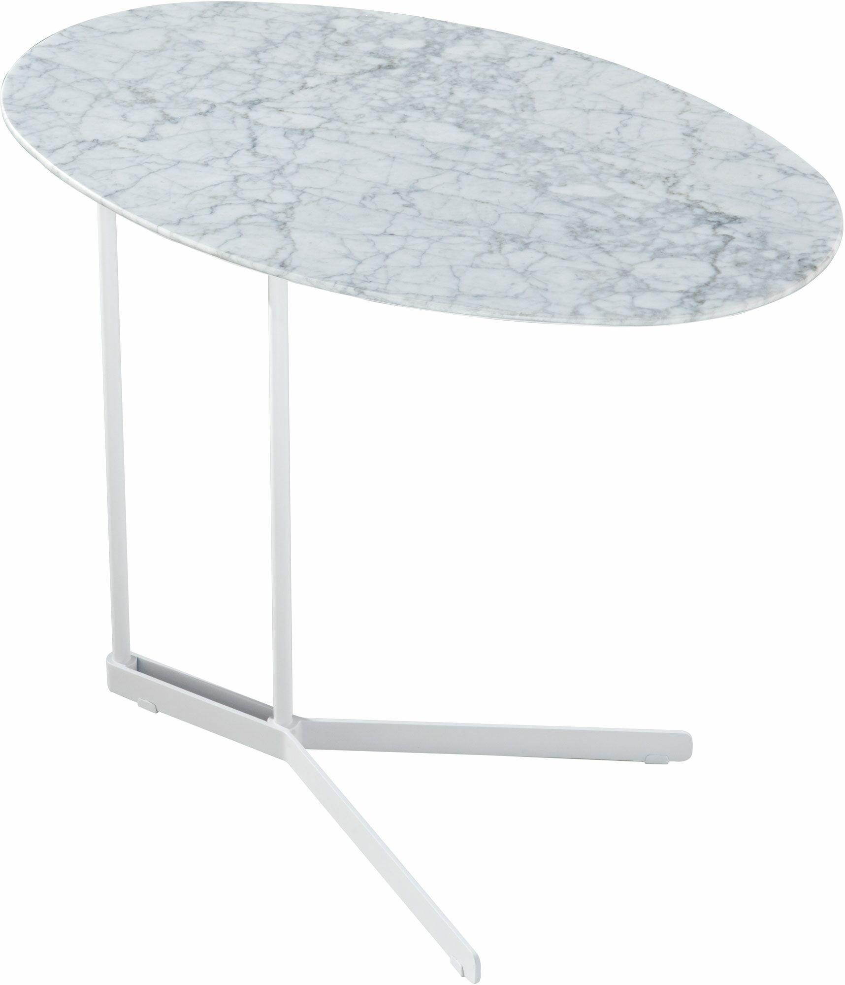 Cabrini End Table Color: Calacatta Marble