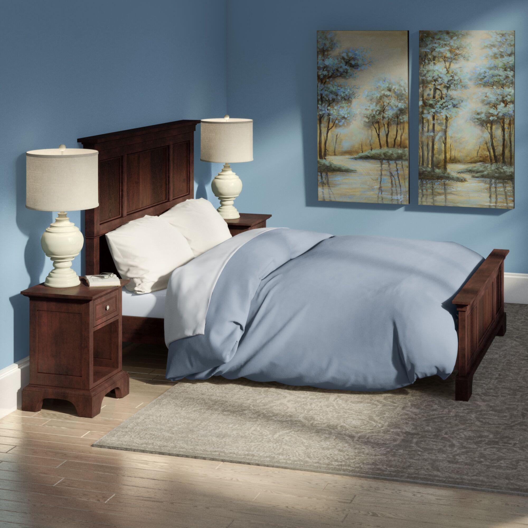 Borden Panel 2 Piece Bedroom Set Size: Queen