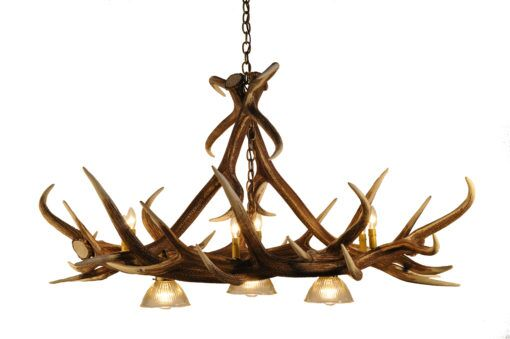 Calla Elk 9-Light Novelty Chandelier