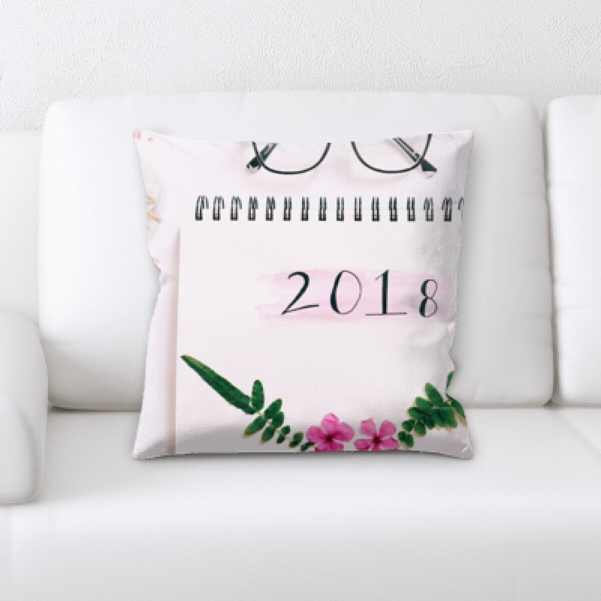 Harbor 2018 Throw Pillow
