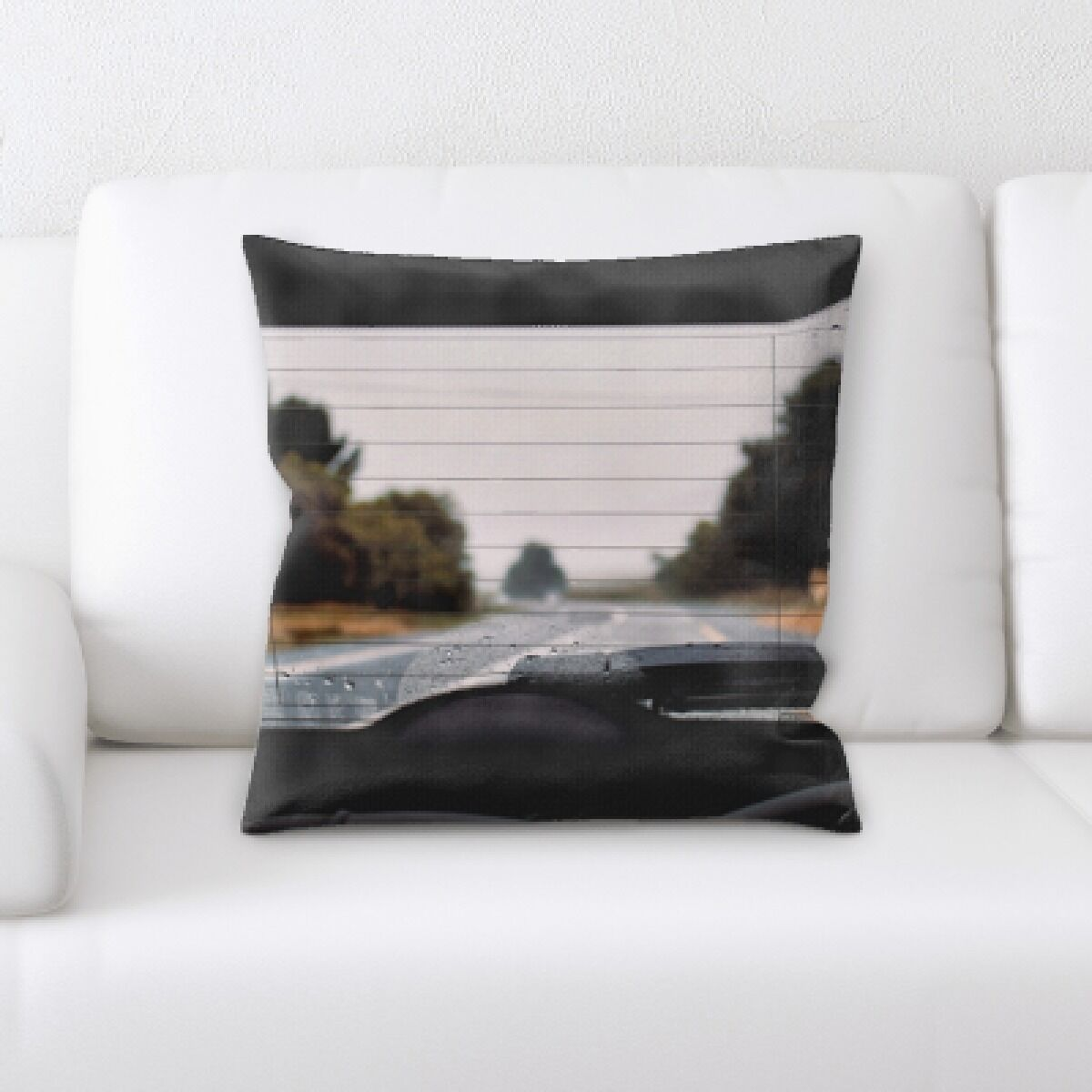 Horner A Road to Many Places (156) Throw Pillow