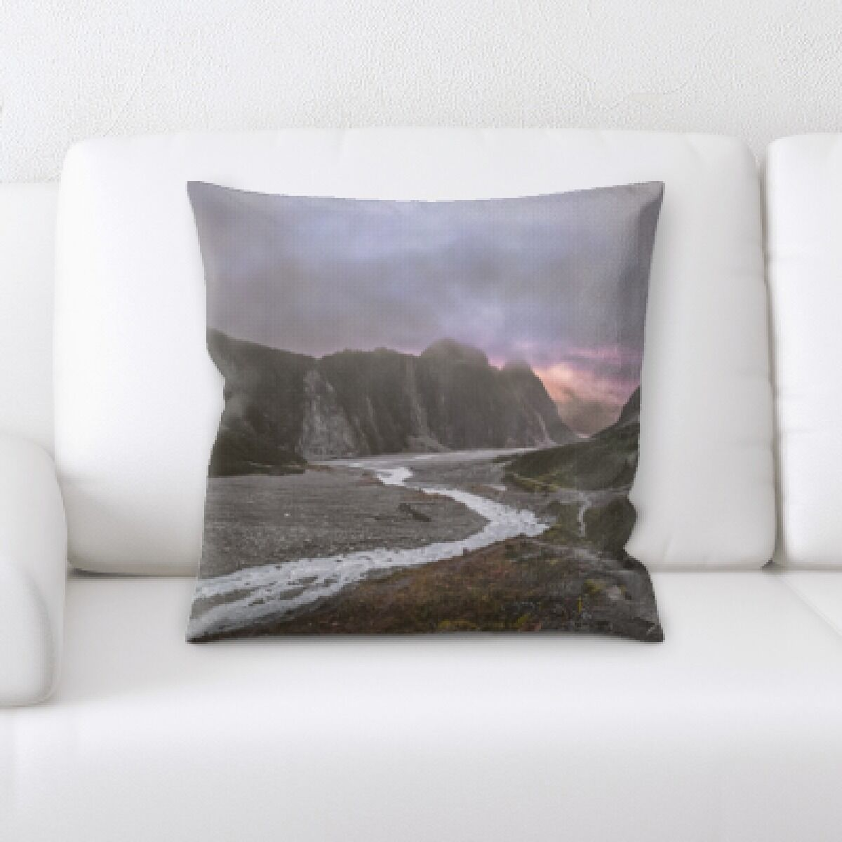 Pulaski A Road to Many Places (98) Throw Pillow
