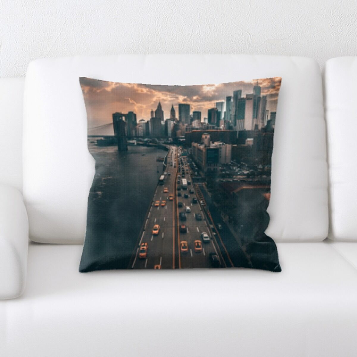 Quintara A Road to Many Places (103) Throw Pillow