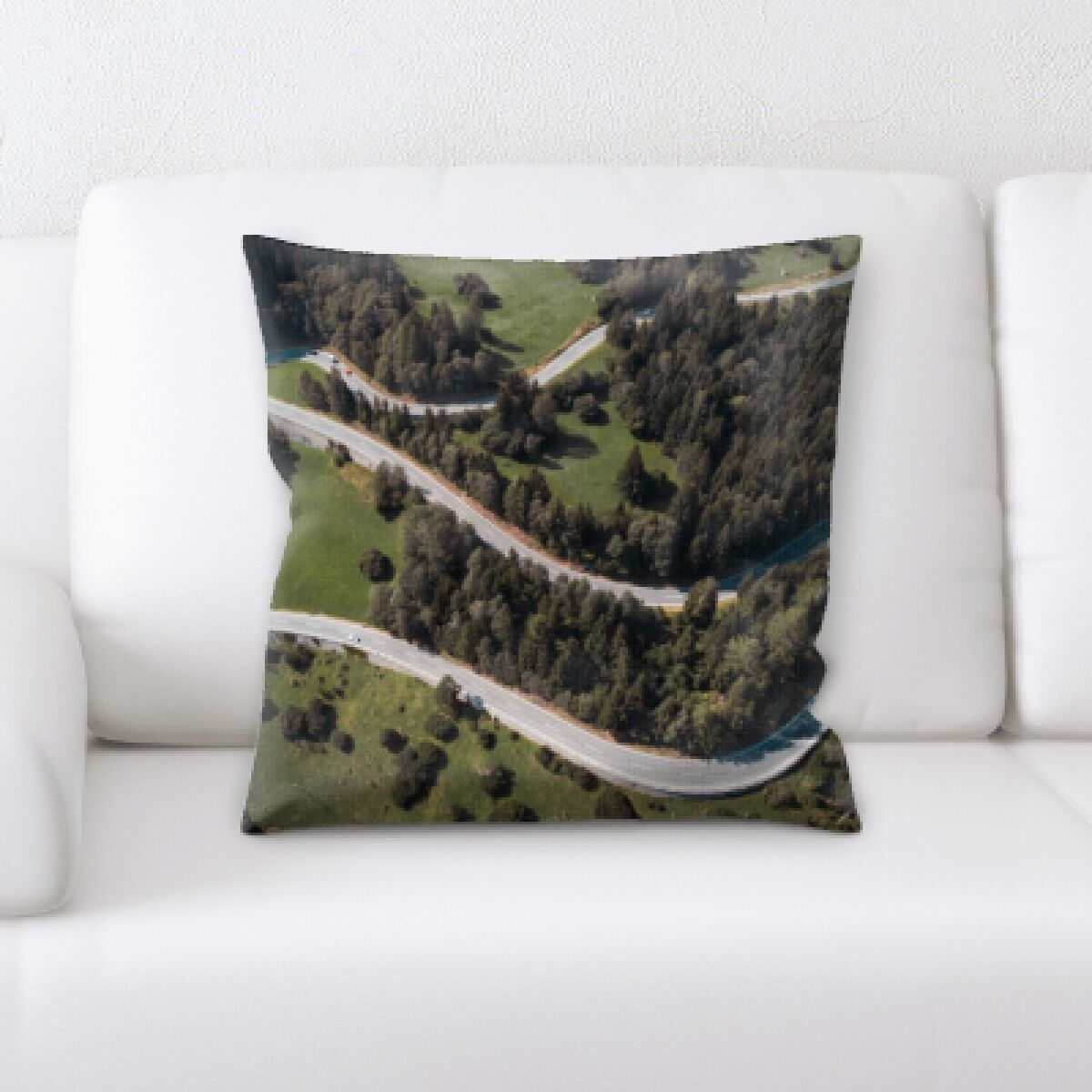 Ingerson A Road to Many Places (33) Throw Pillow