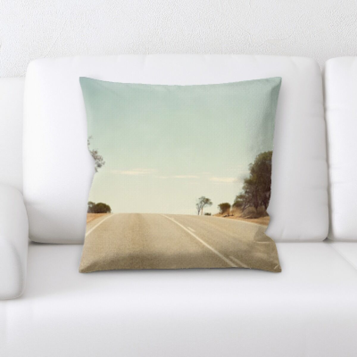 Ravenwood A Road to Many Places (109) Throw Pillow
