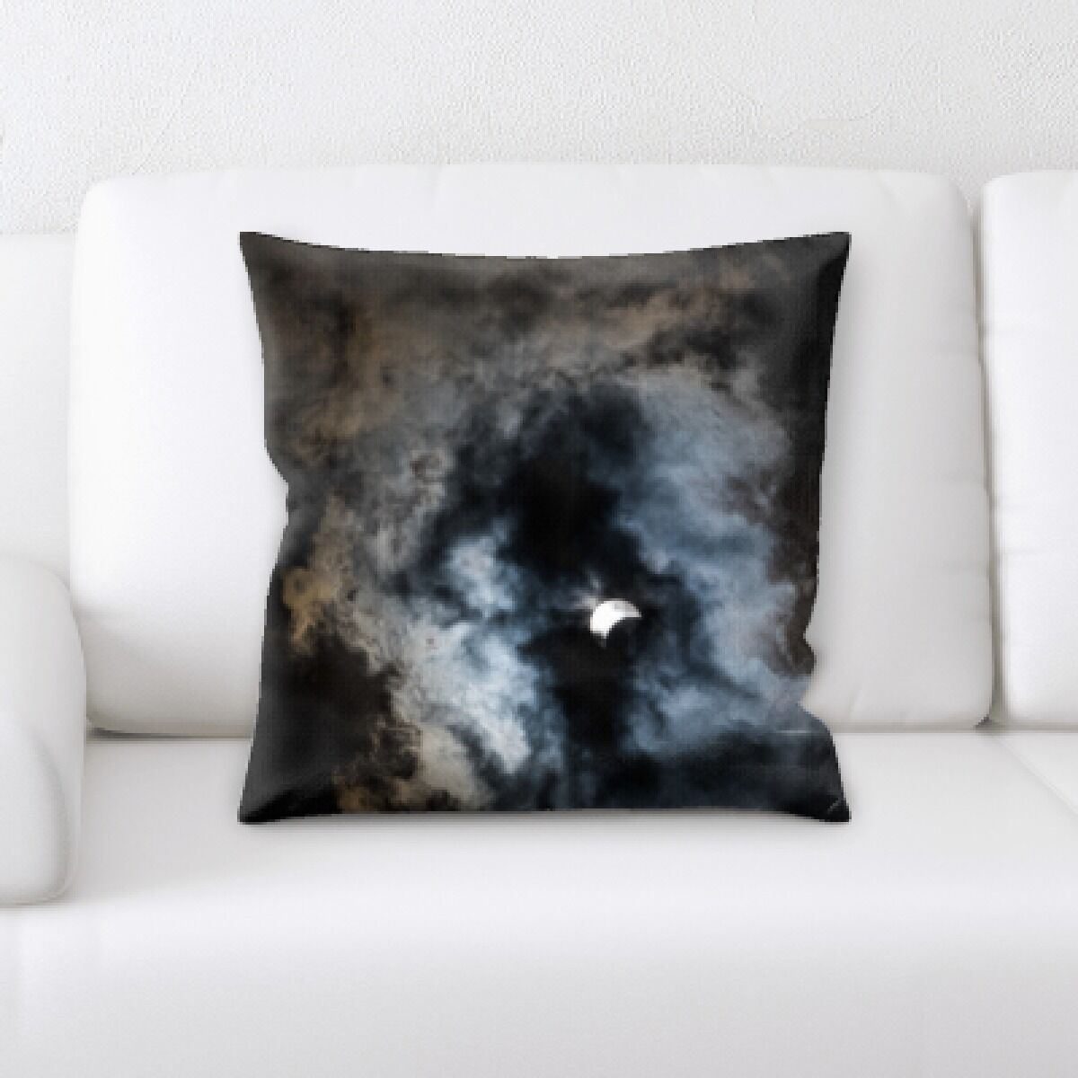 Eclipse (4) Throw Pillow