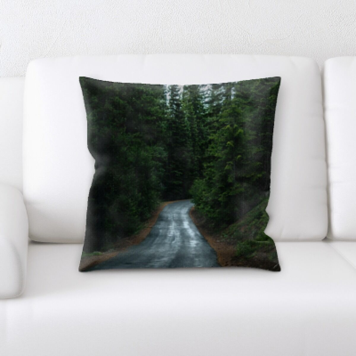 Niantic A Road to Many Places (57) Throw Pillow