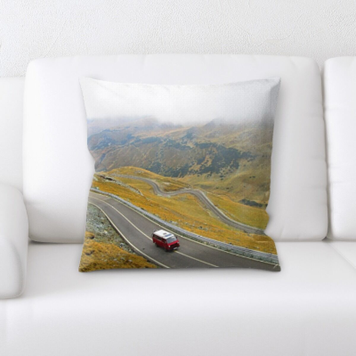 Isola A Road to Many Places (39) Throw Pillow