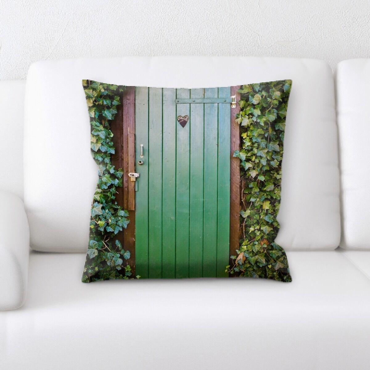 Lawson Door (1) Throw Pillow