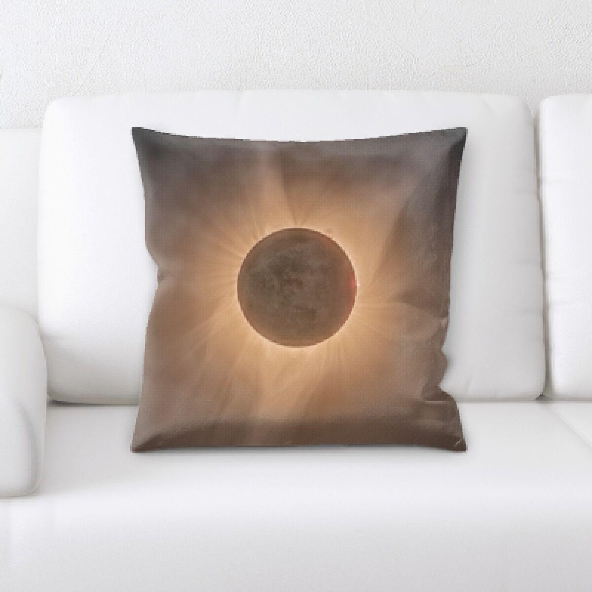 Eclipse (8) Throw Pillow