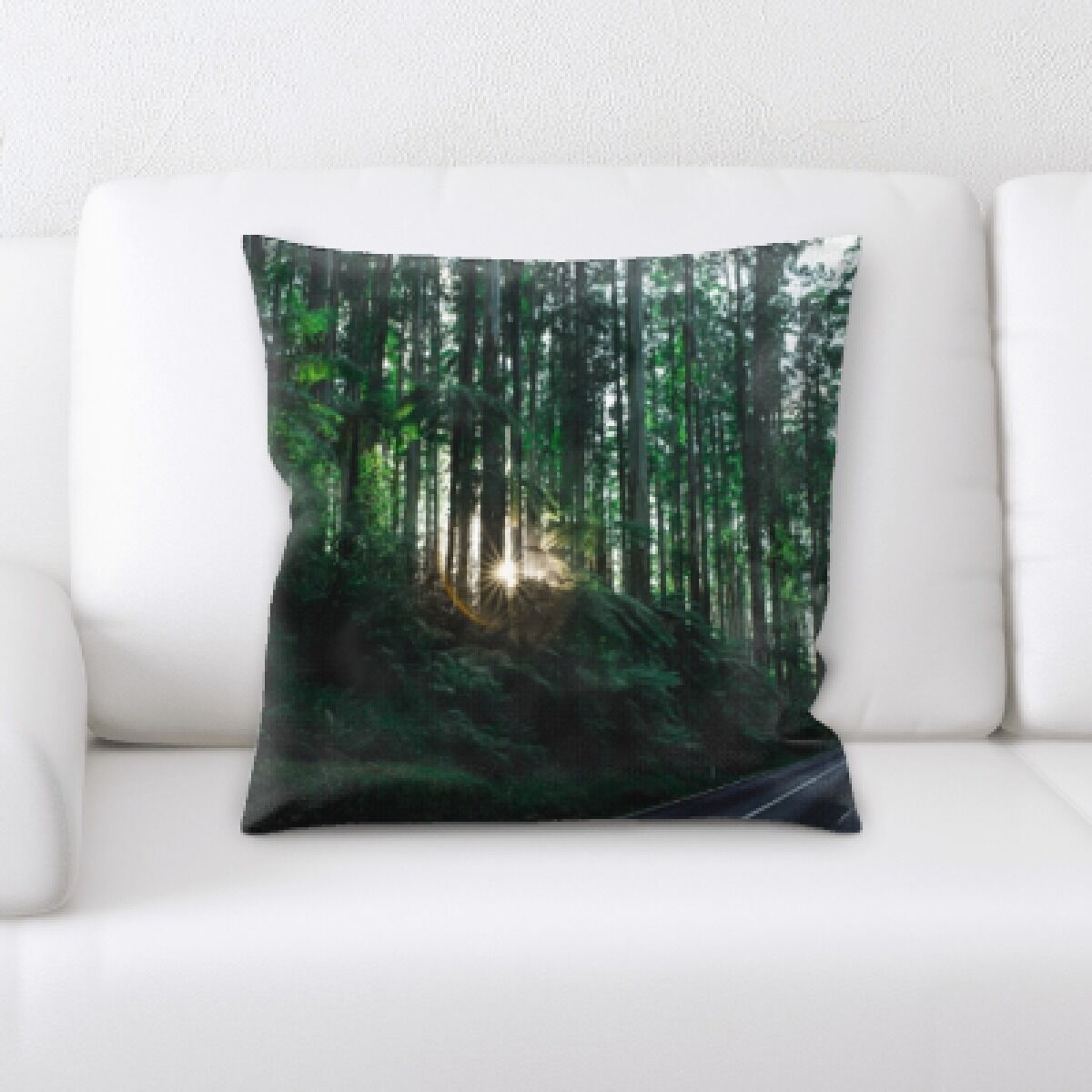 Illuminated (8) Throw Pillow