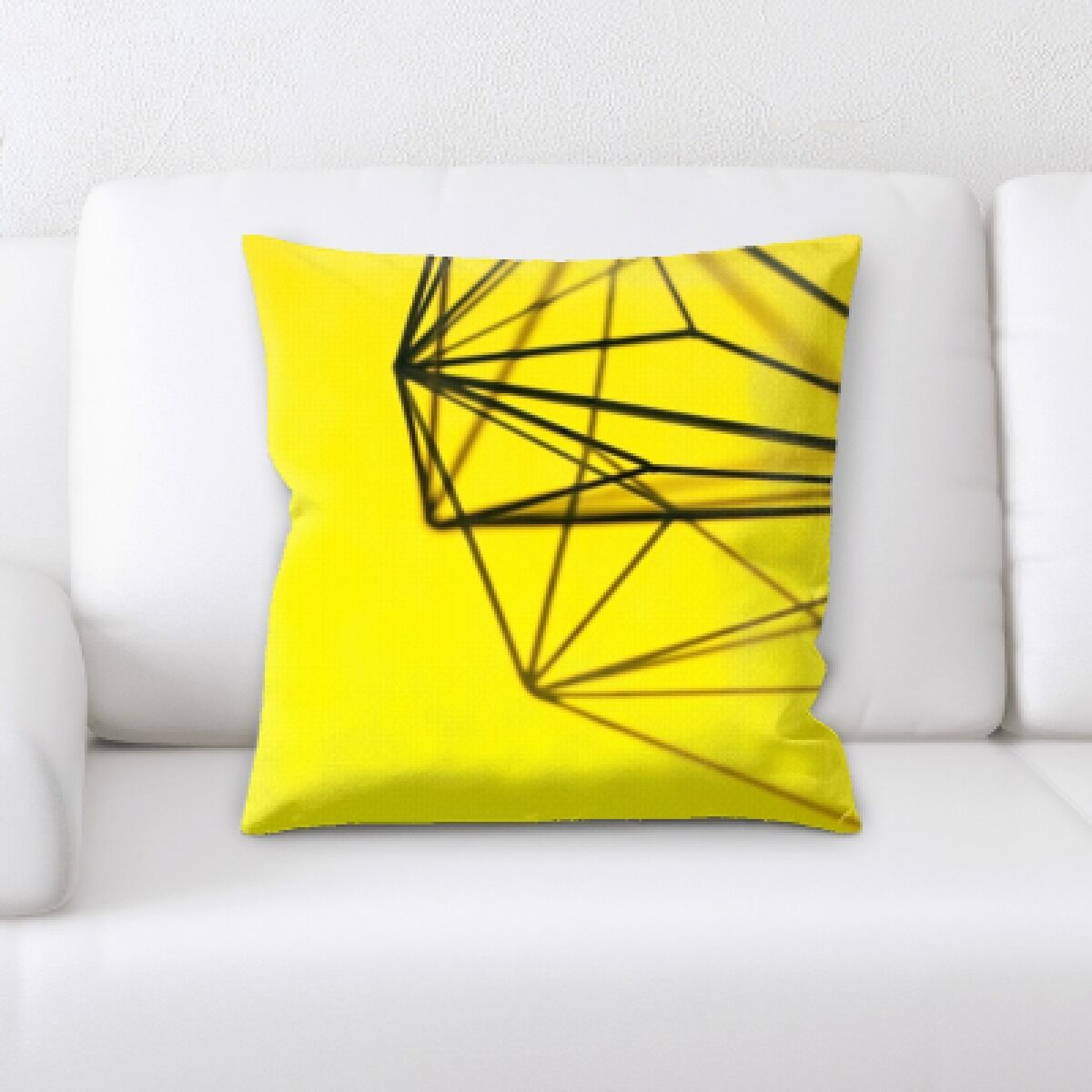 Prather Metal Design Throw Pillow