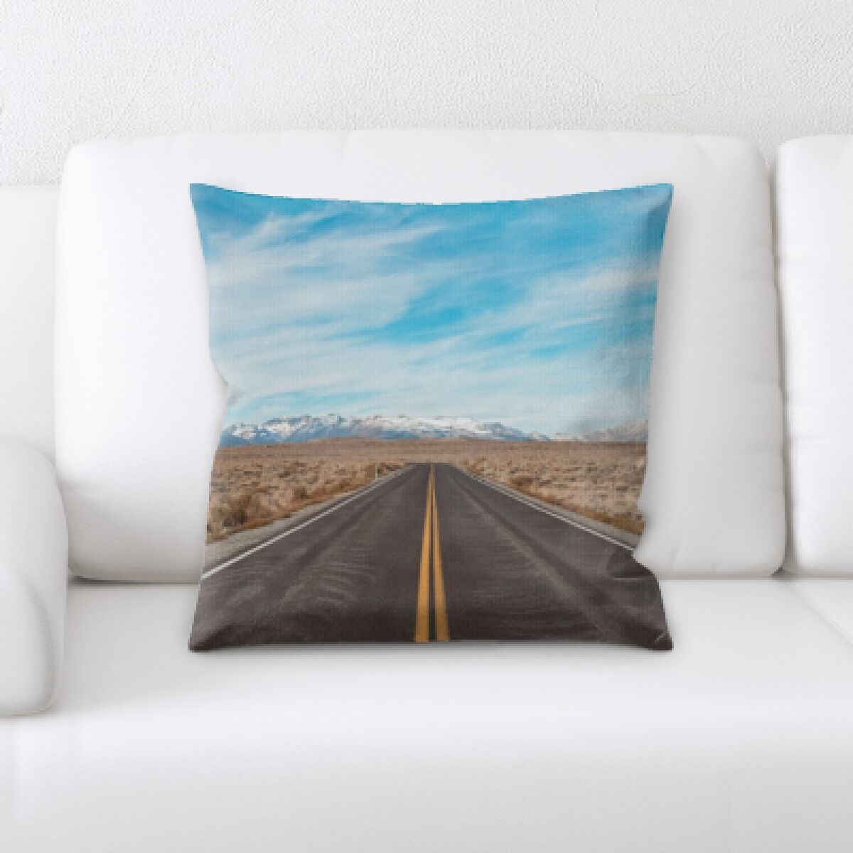 Rockwood A Road to Many Places (131) Throw Pillow