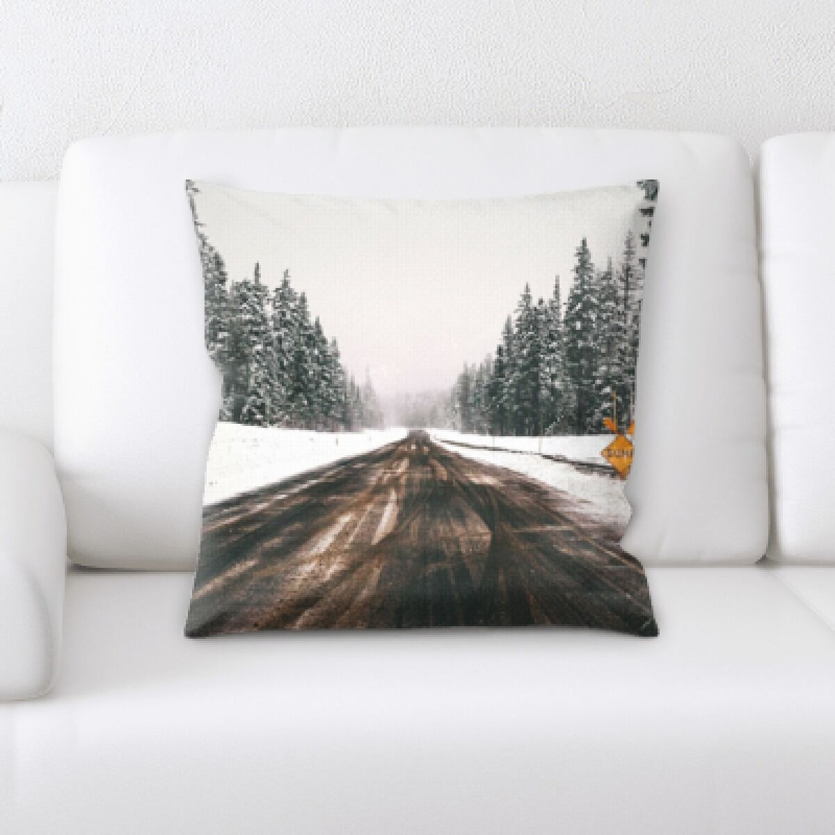 Roiguez A Road to Many Places (132) Throw Pillow