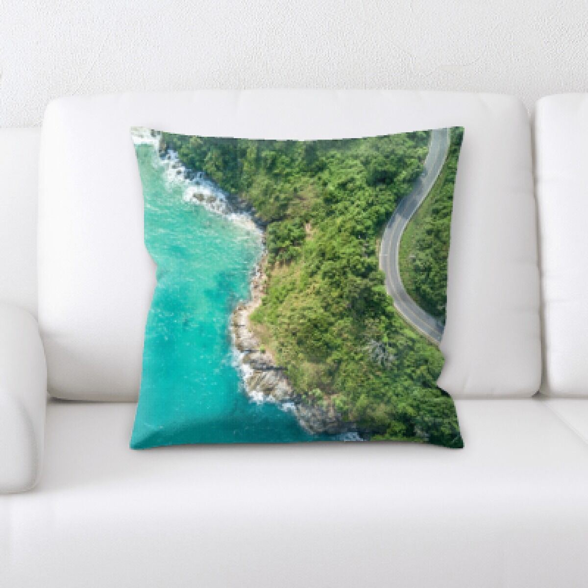 Onique A Road to Many Places (80) Throw Pillow