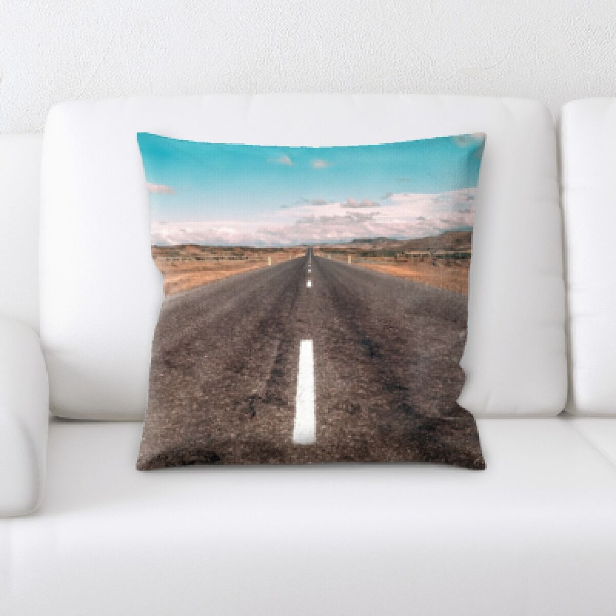 Orben A Road to Many Places (84) Throw Pillow