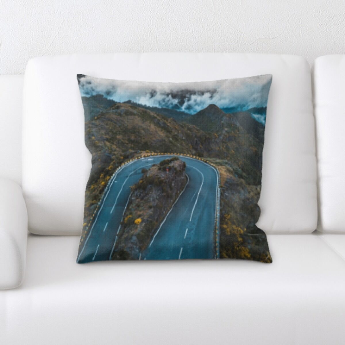 Orsi A Road to Many Places (87) Throw Pillow
