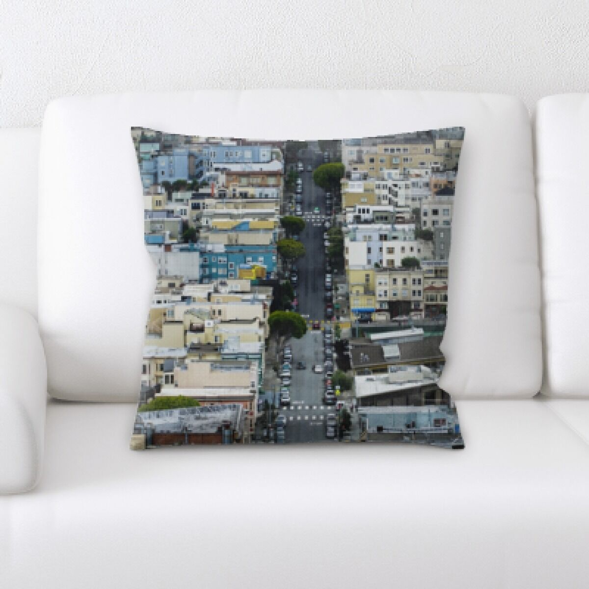 Rossmoor A Road to Many Places (139) Throw Pillow