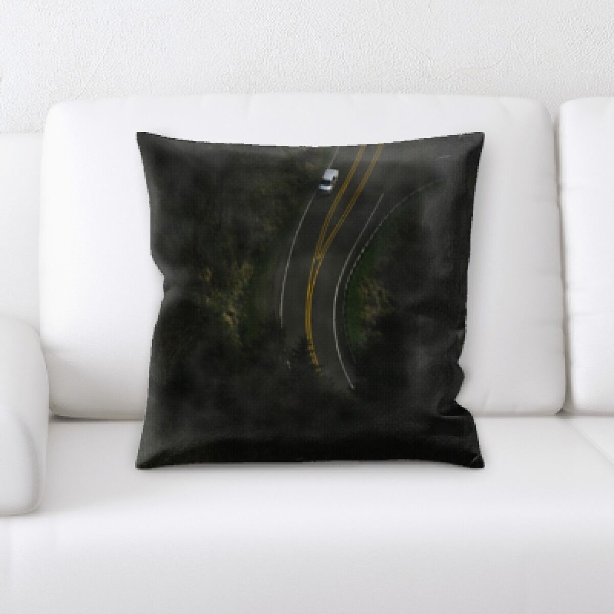 Royal A Road to Many Places (142) Throw Pillow