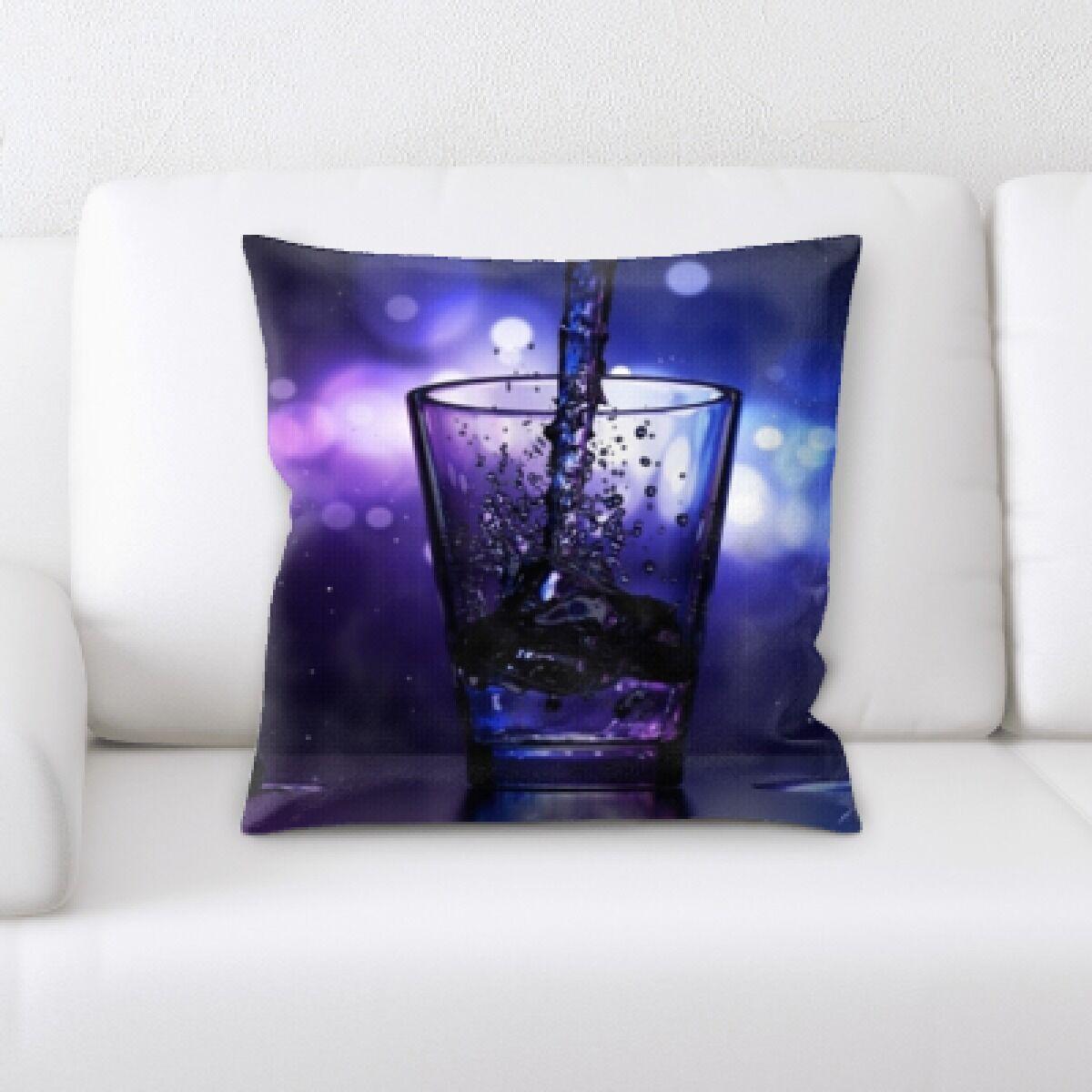Waville Glass (2) Throw Pillow