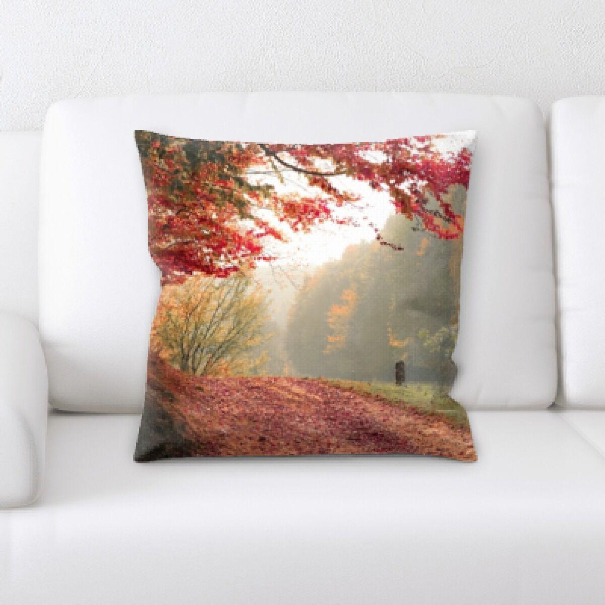 Archibald Fall Season (8) Throw Pillow