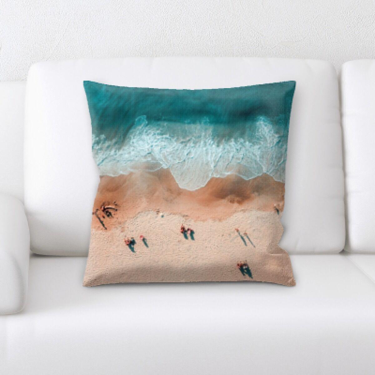 Lake (160) Throw Pillow