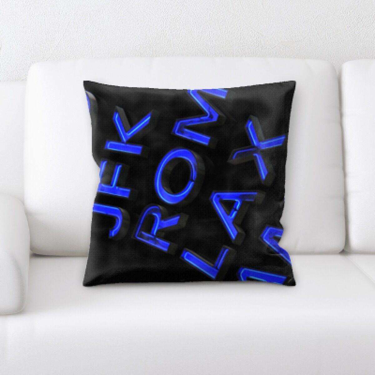Lake (108) Throw Pillow