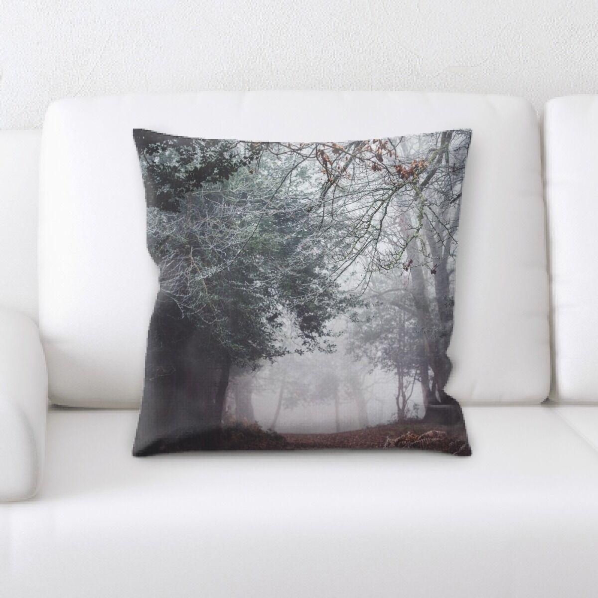 Land (18) Throw Pillow