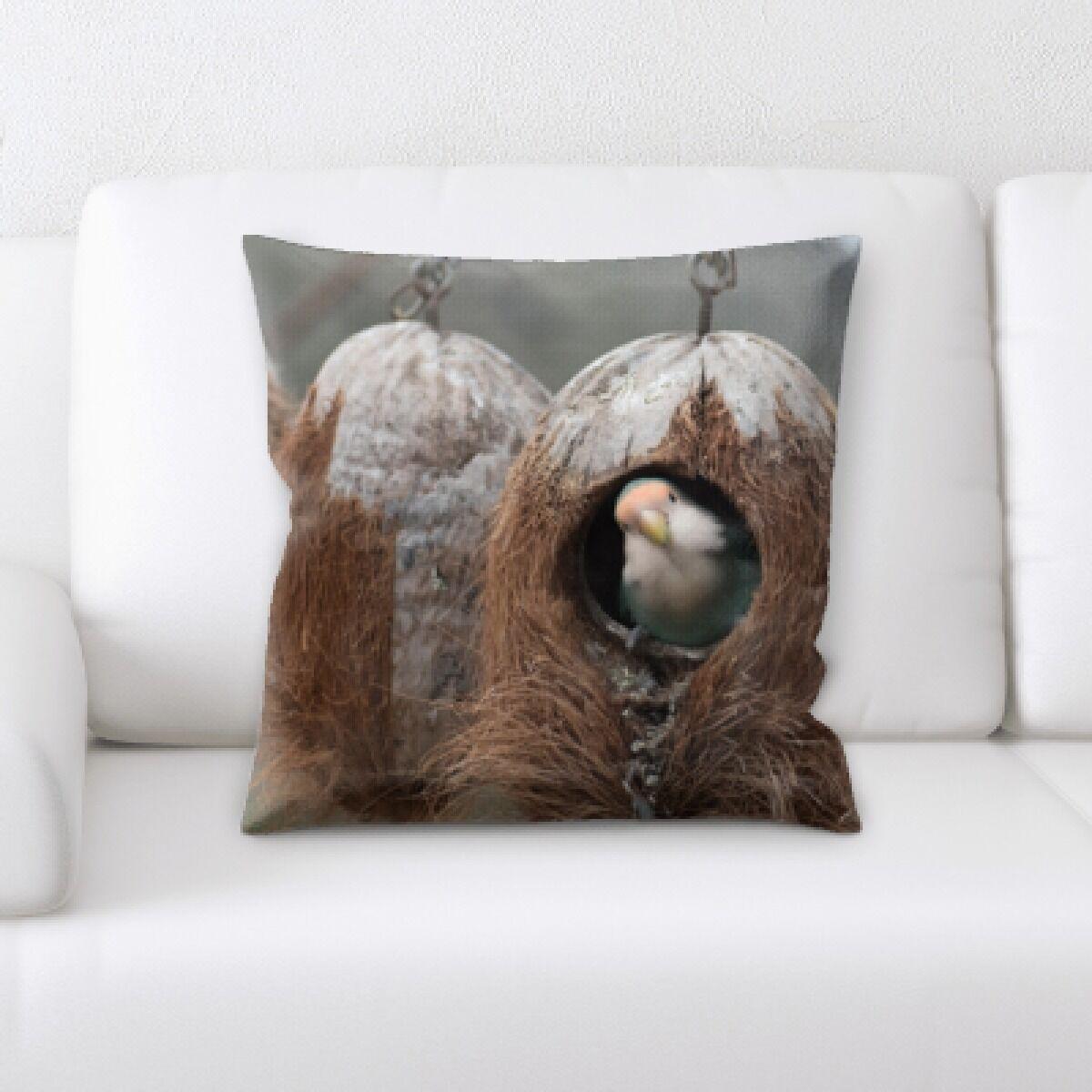Eaman Animal (53) Throw Pillow