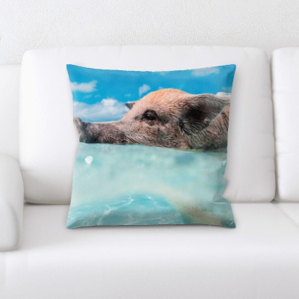 Eaman Animal (58) Throw Pillow