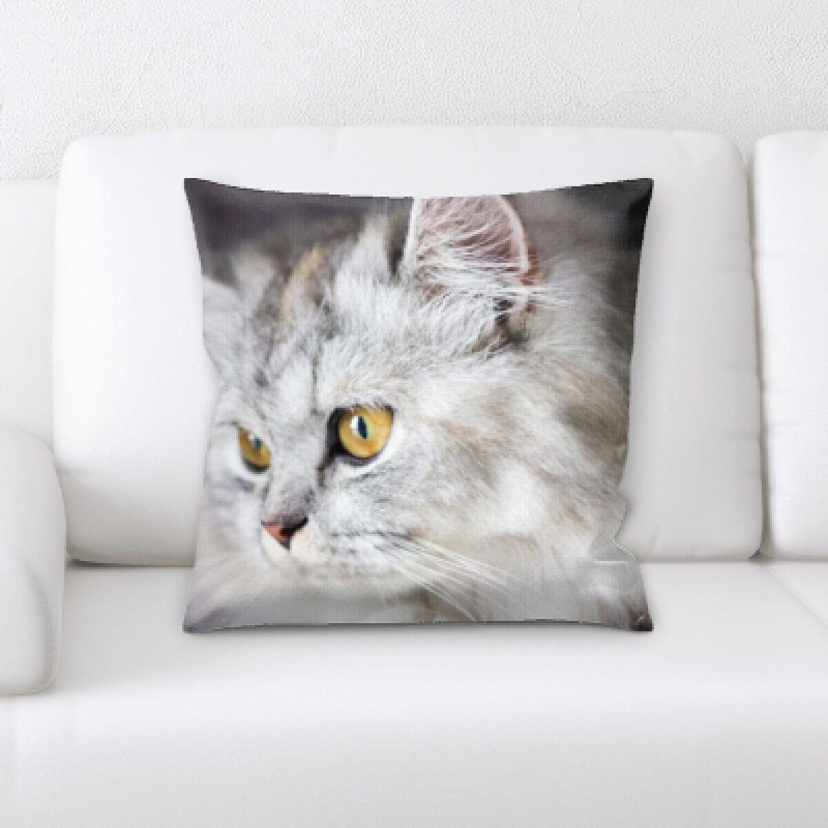 Eaman Animal (80) Throw Pillow