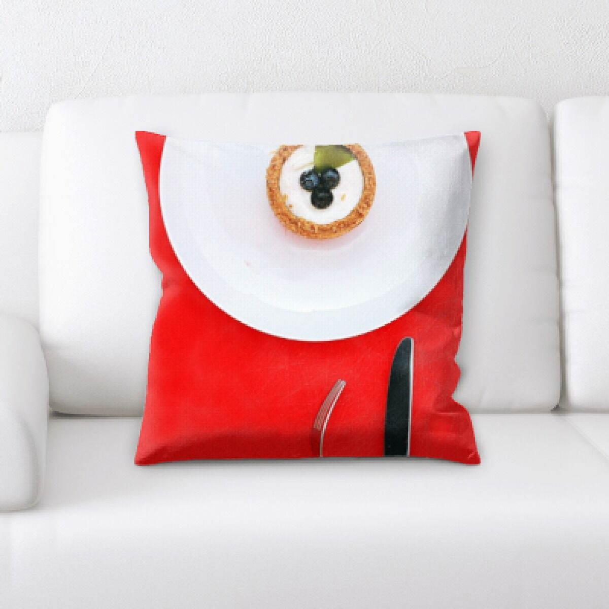 Lang Food (113) Throw Pillow