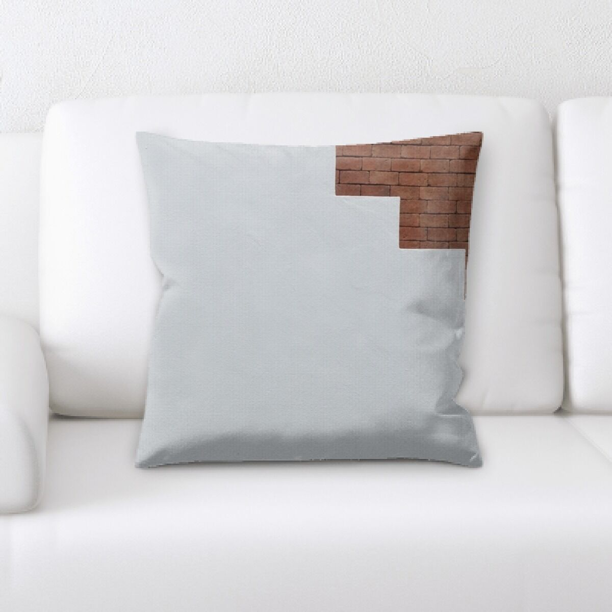 Bricks (16) Throw Pillow