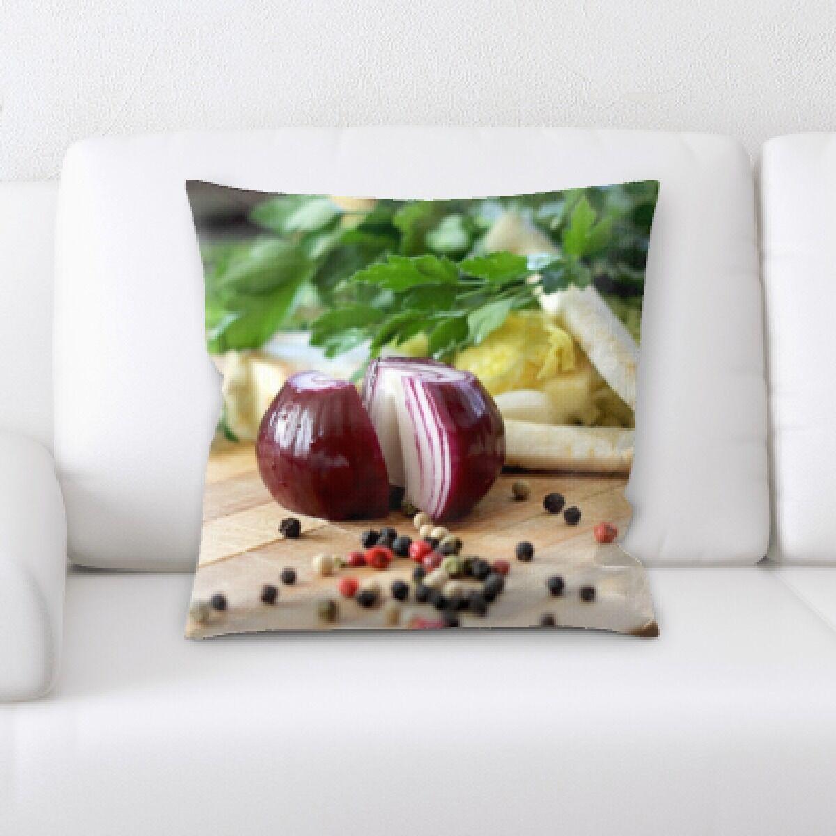 Lang Food (125) Throw Pillow