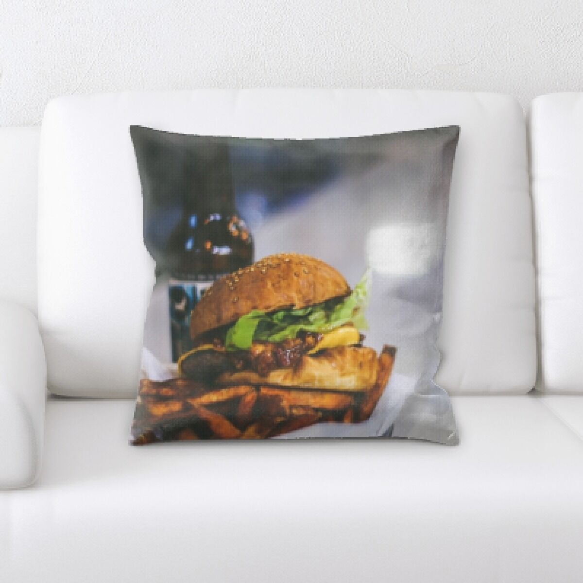 Lang Food (127) Throw Pillow