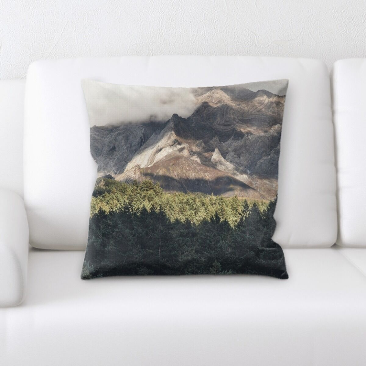Lacy (207) Throw Pillow