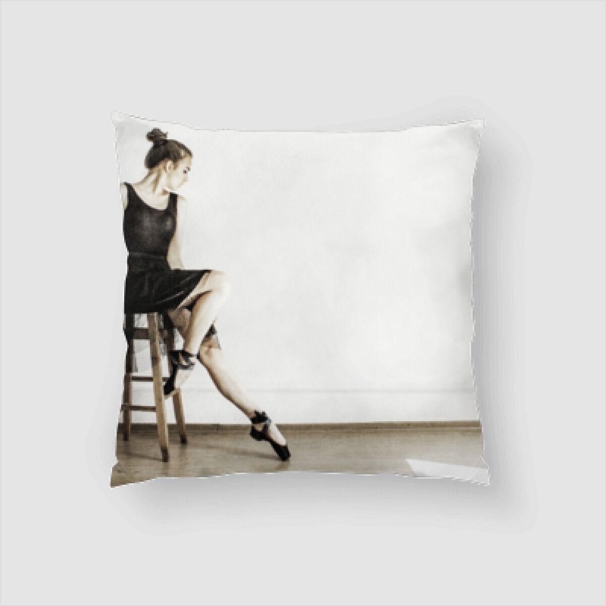 Draper Ballet Throw Pillow