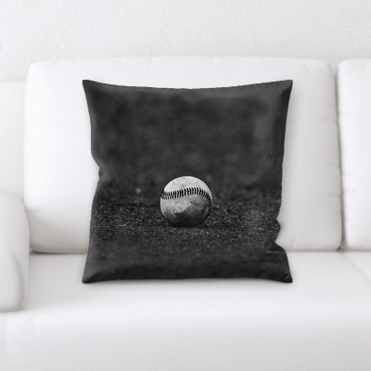 Driver Baseball Throw Pillow