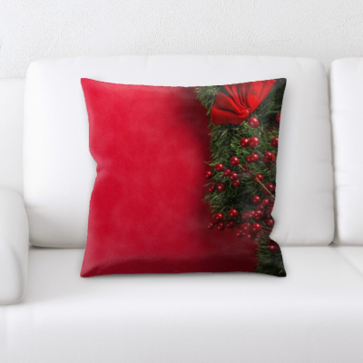 Congo Christmas (3) Throw Pillow